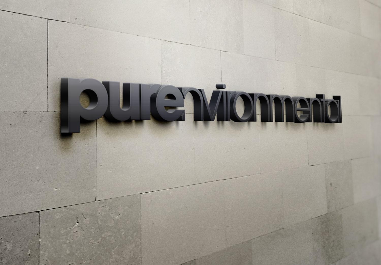 purenvironmental-logo-wall