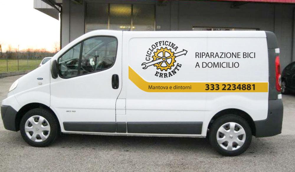 Ciclofficina-furgone